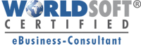 Worldsoft Certified eBusiness Consultant Logo